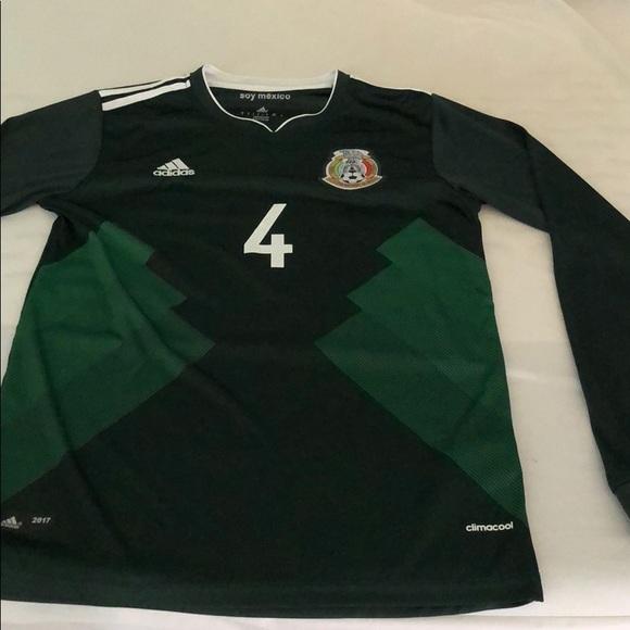 e50af60e7 adidas Other - Rafa Marquez Mexico Soccer Jersey- Long Sleeve